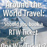 RTW Tickets for Around the World Travel