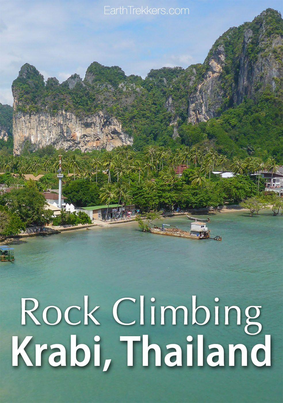 Rock Climbing Krabi Thailand