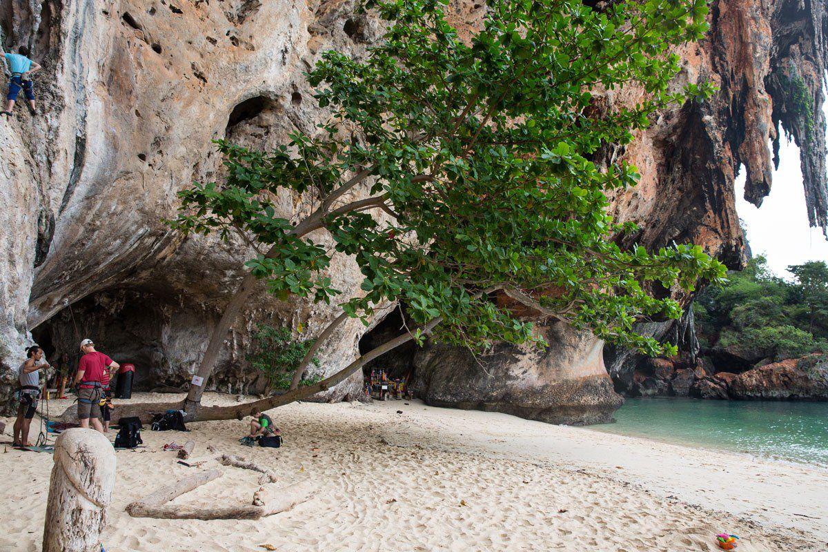Rock Climbing Phra Nang Cave