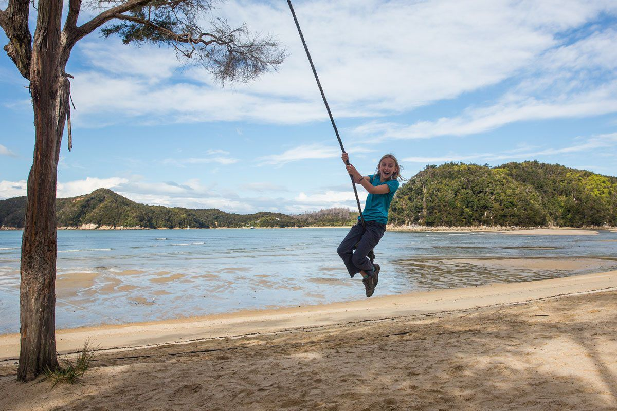 Swing at Torrent Beach