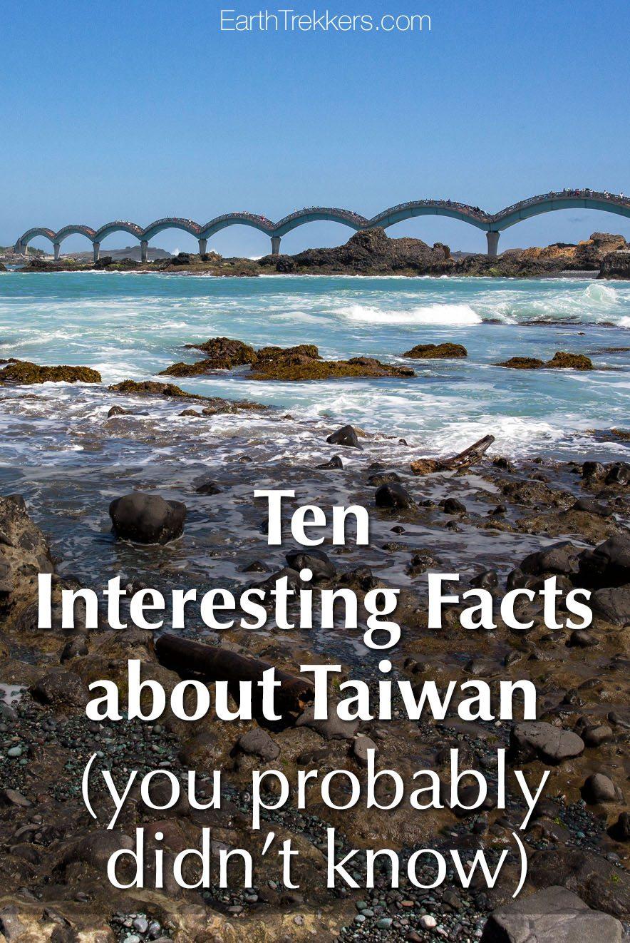 Taiwan Interesting Facts