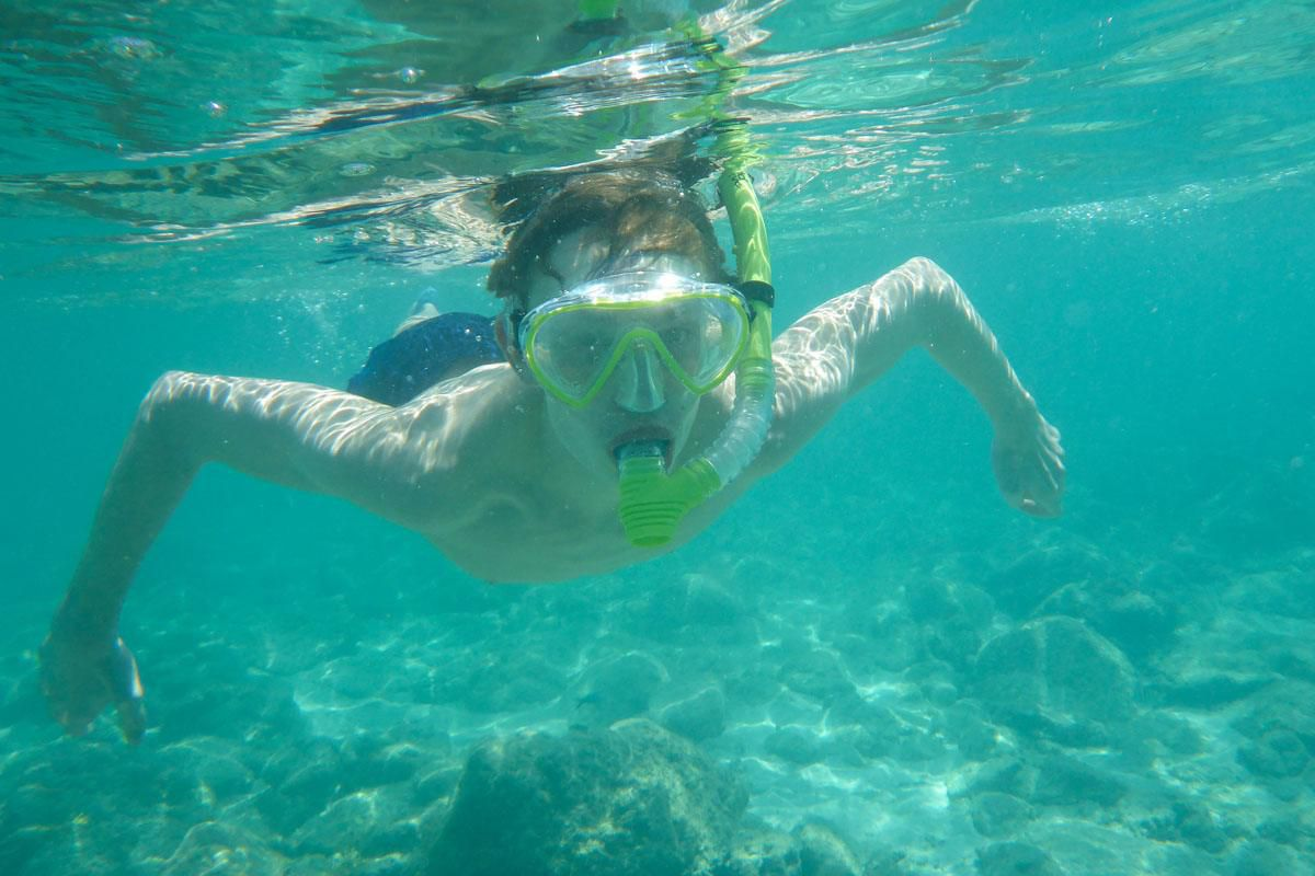 Tyler Snorkeling Aruba