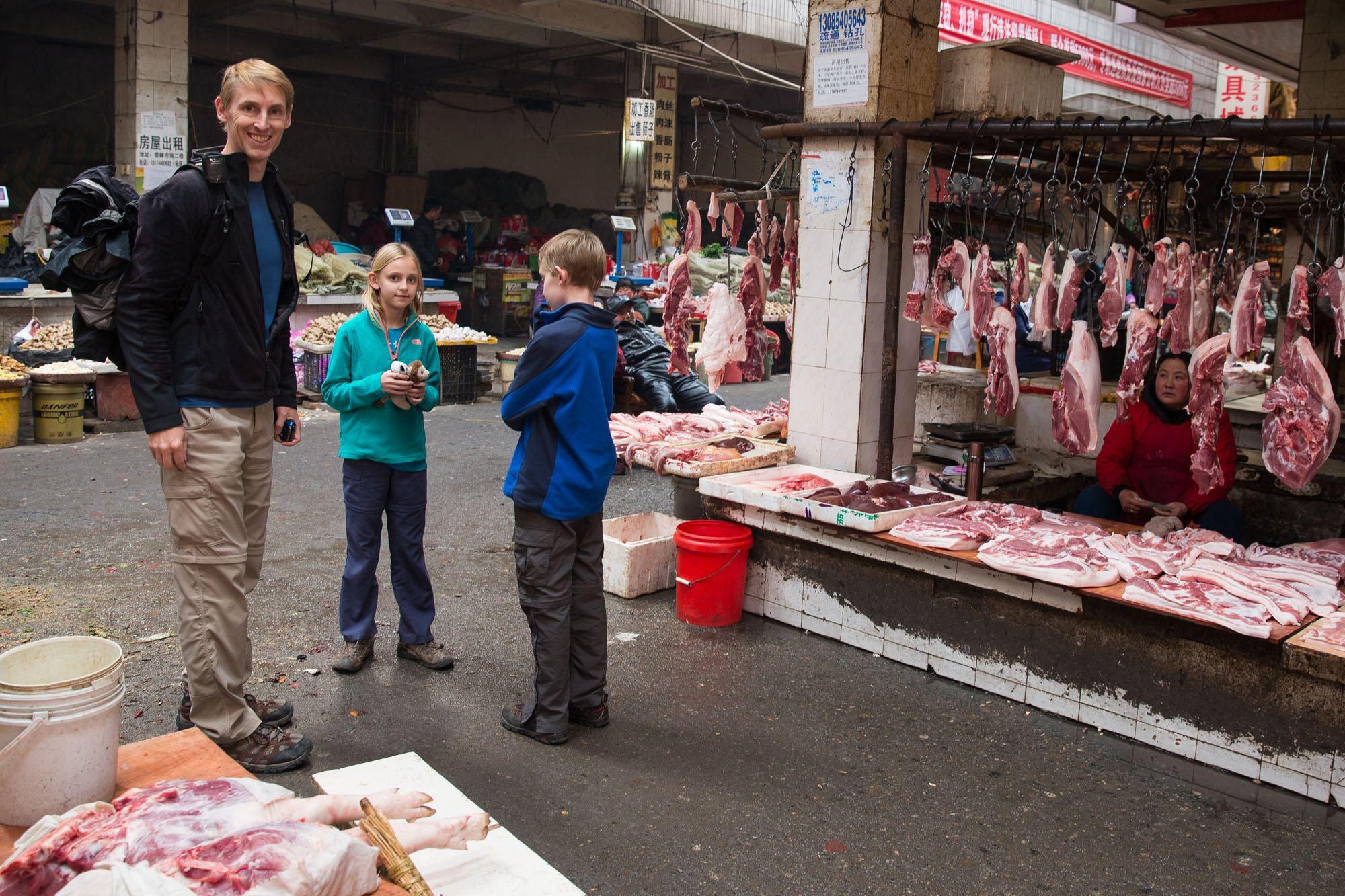 Zhangjiajie Market Tour