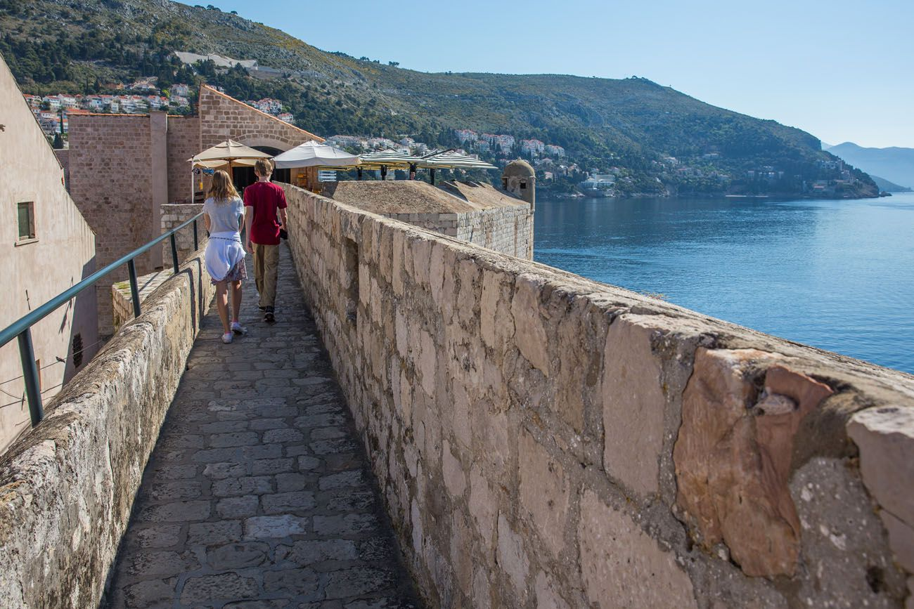 Dubrovnik Walls in April