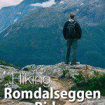 Hike Norway Romsdalseggen Ridge