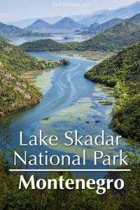 Lake Skadar National Park Montenegro