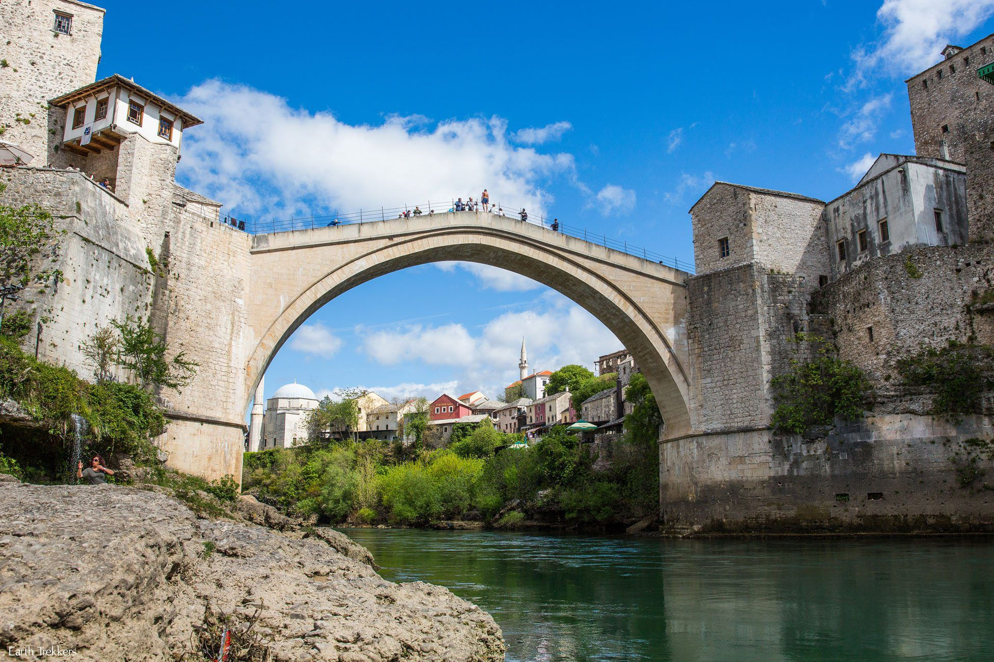 Mostar Old Bridge in April
