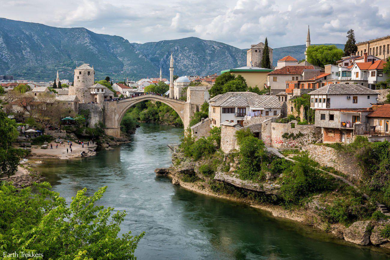Mostar in April