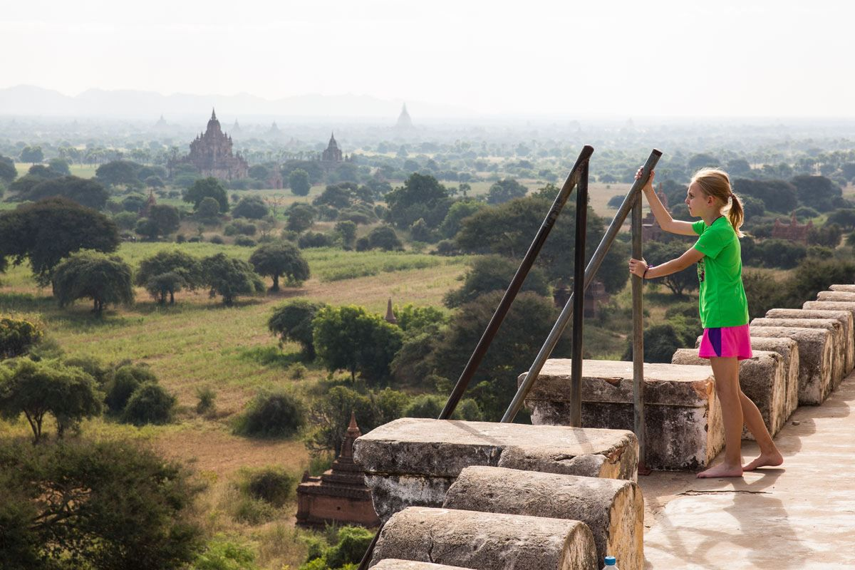 Overlooking Bagan