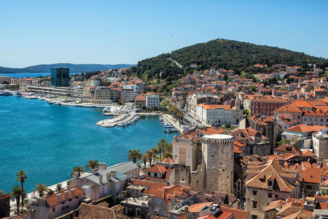 Overlooking Split