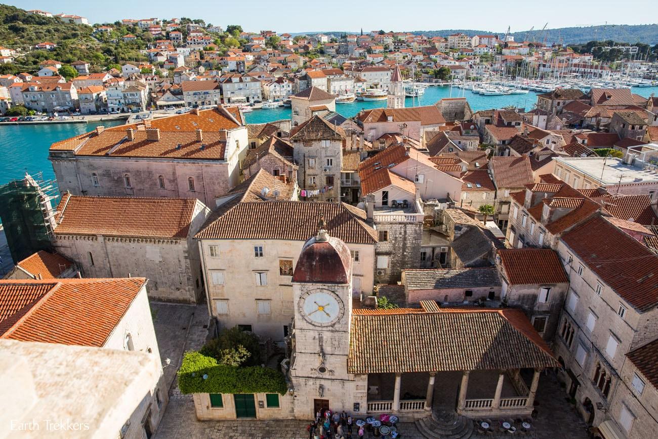 Overlooking Trogir