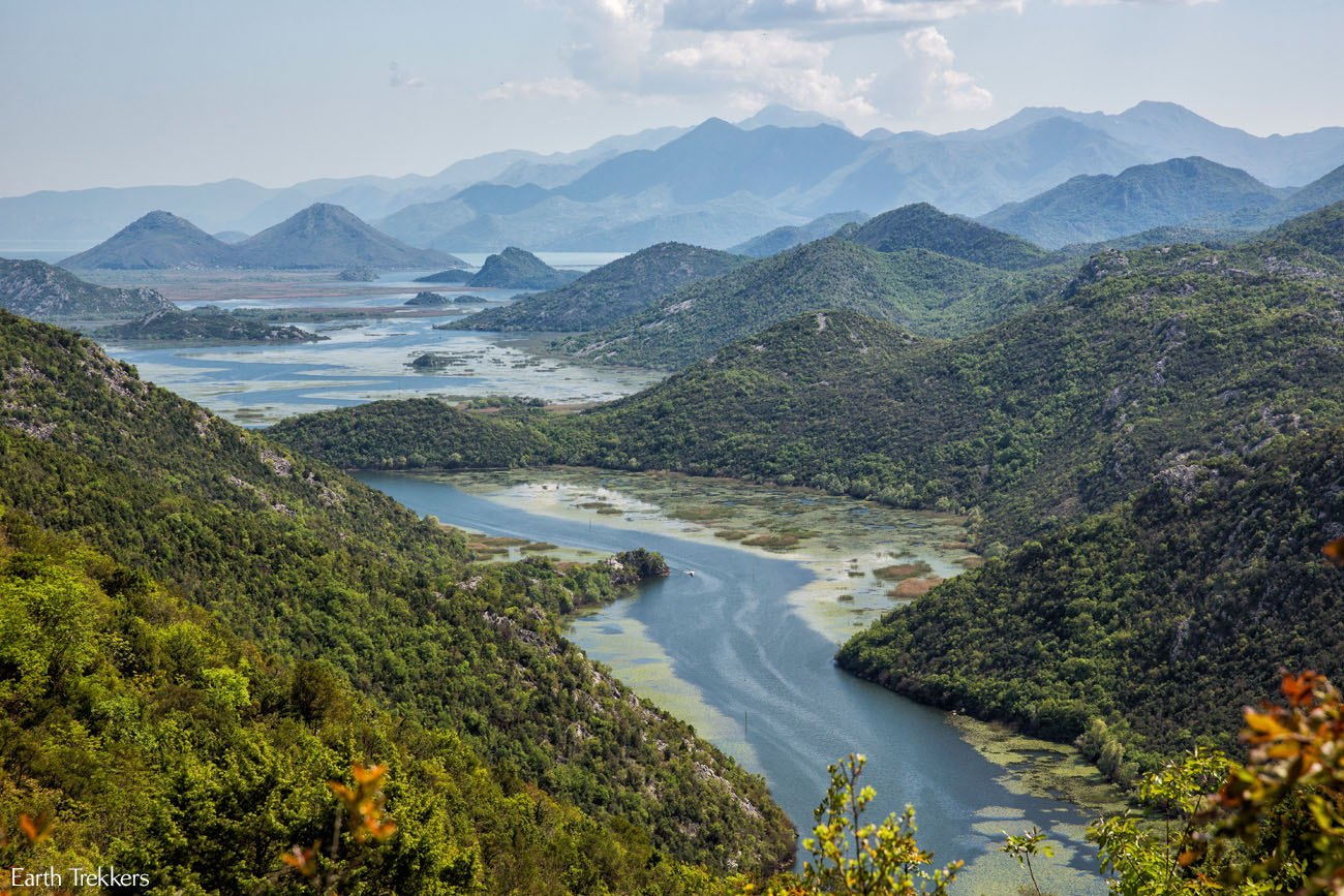 Skadar Montenegro Horseshoe Bend