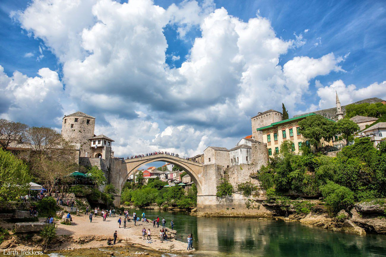 Stari Most in April
