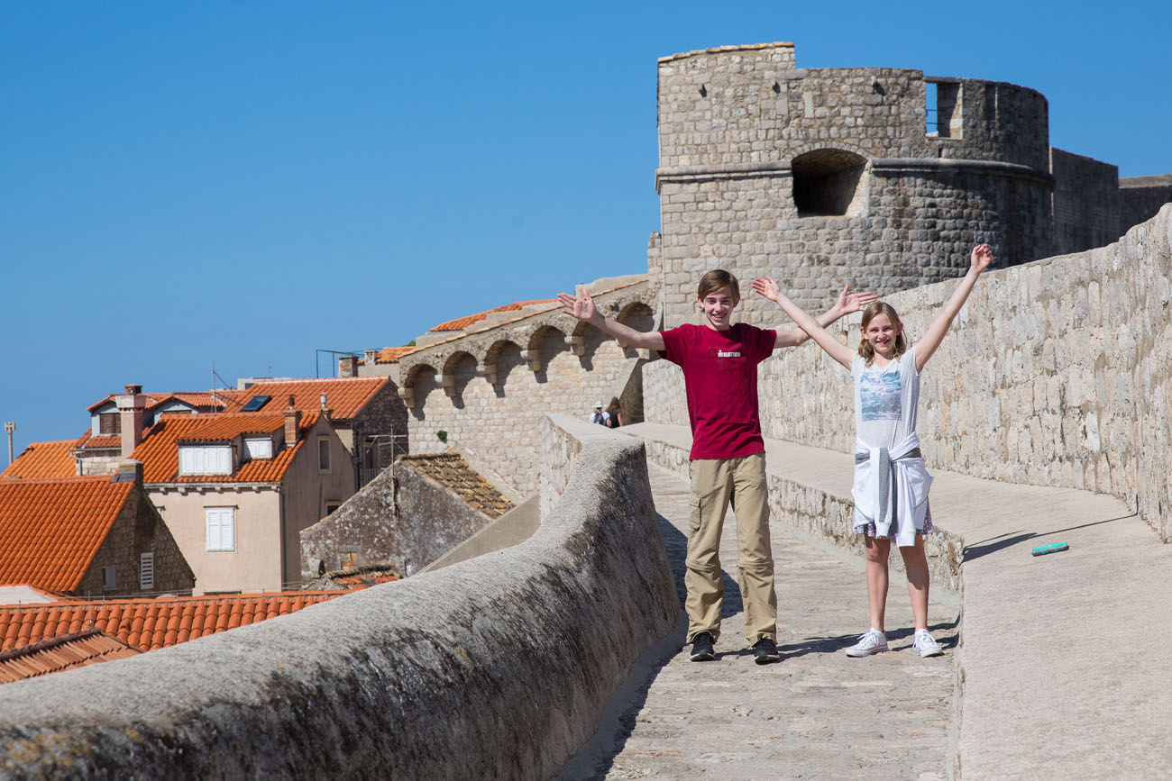 Tyler and Kara in Dubrovnik