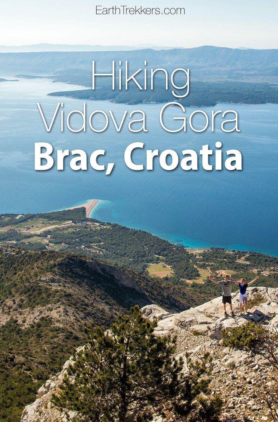 Vidova Gora Brac Croatia