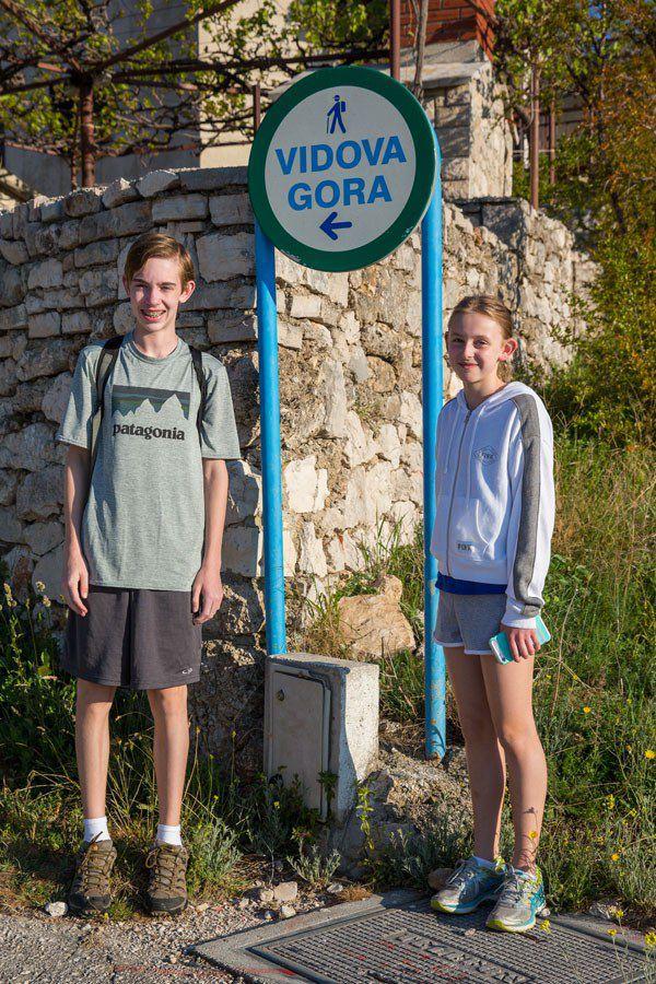 Vidova Gora Trailhead