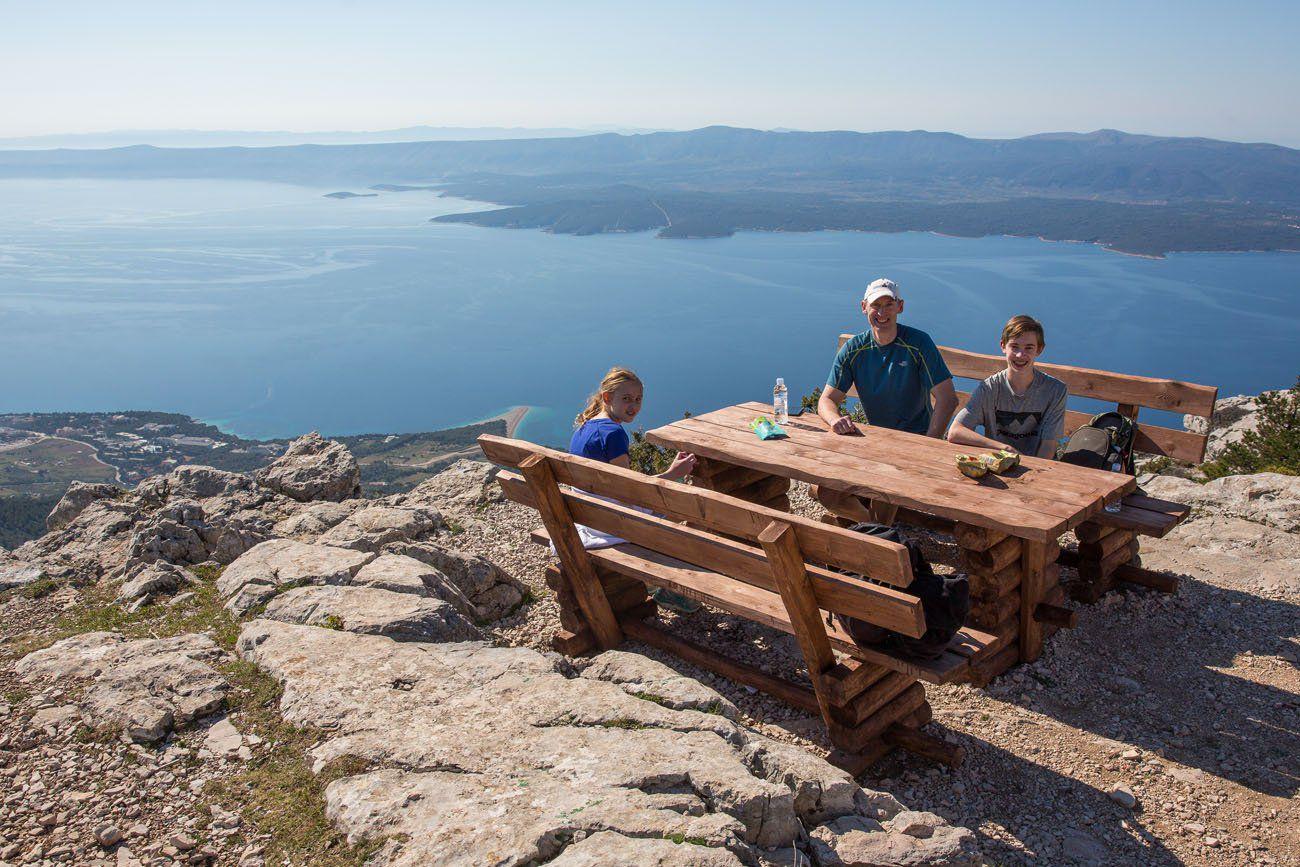 Vidova Gora picnic spot