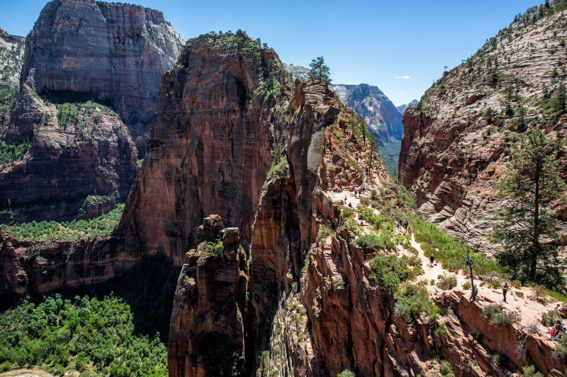 Angels Landing Midday