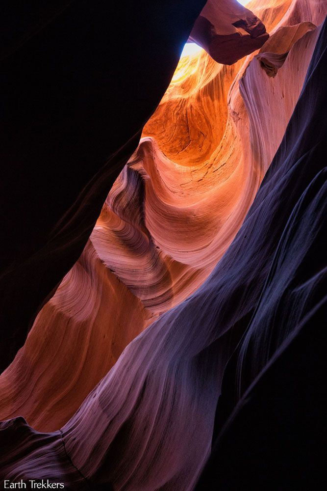 Antelope Canyon Rainbow