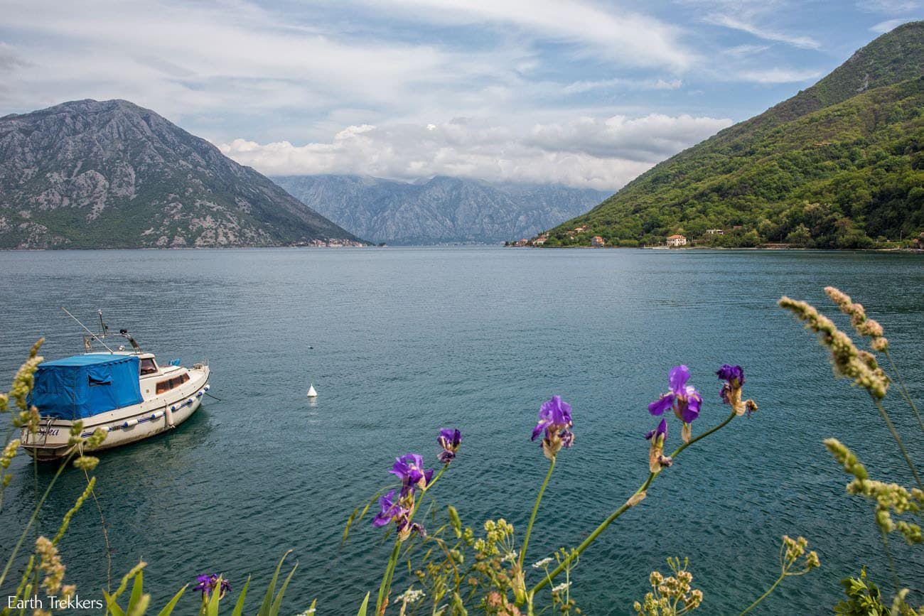 Bay of Kotor in April