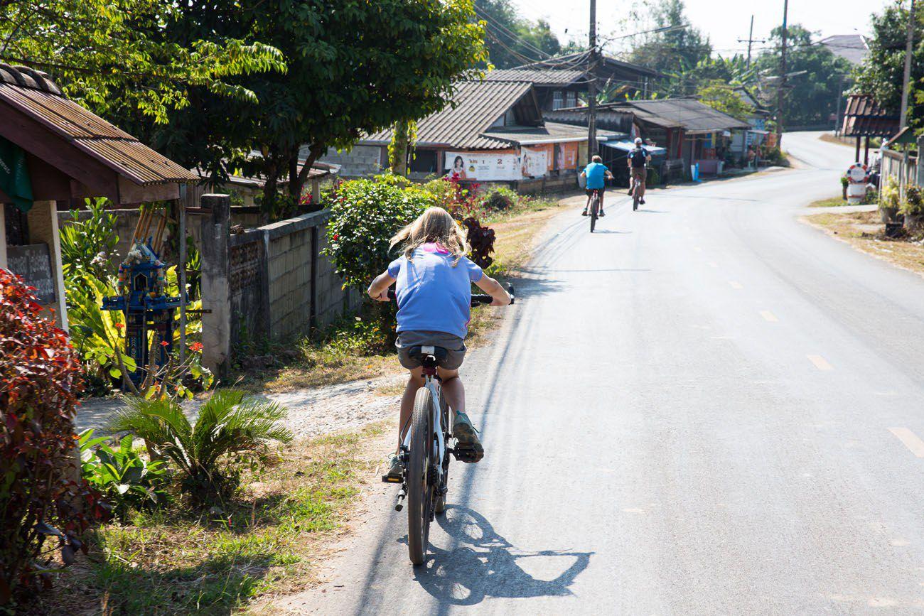 Cycling Chiang Rai