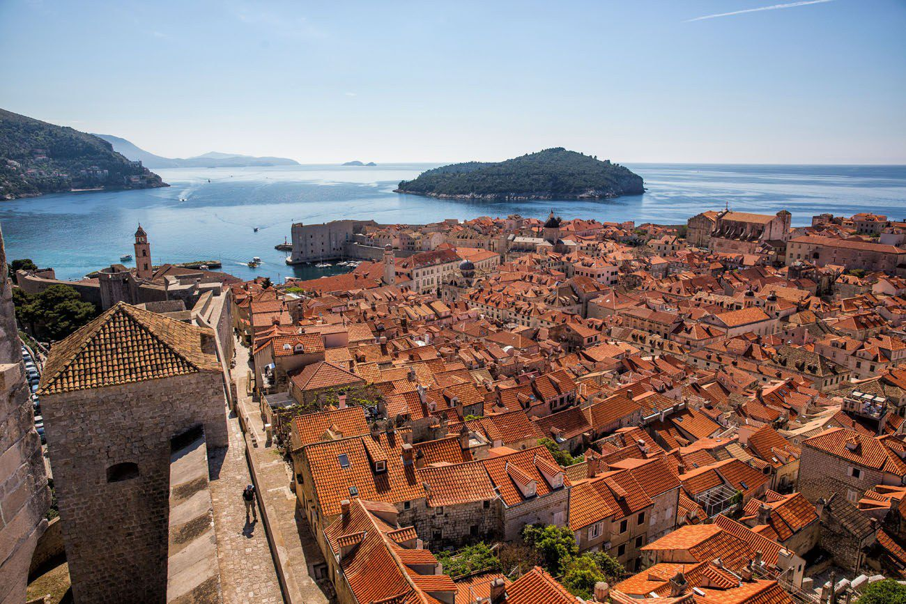 Dubrovnik View from Minceta Tower