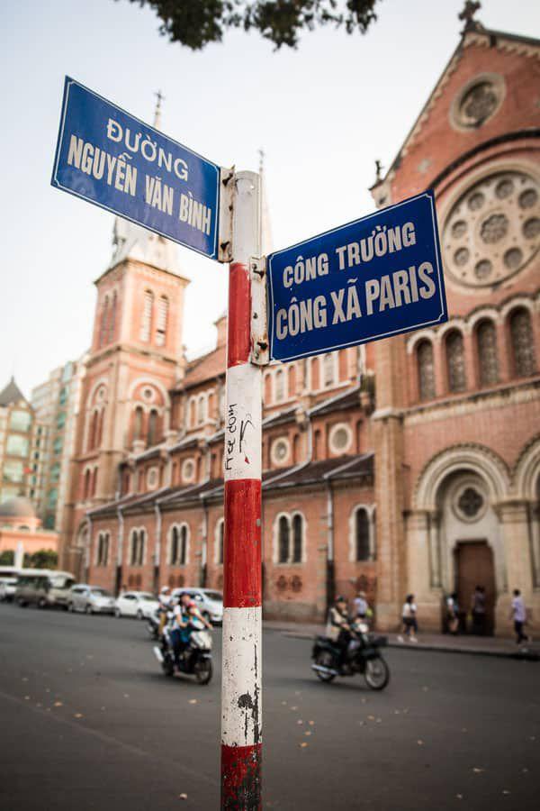 HCMC Street Signs