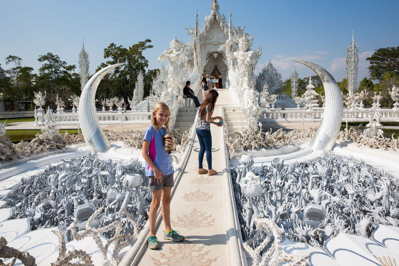 Kara at the White Temple