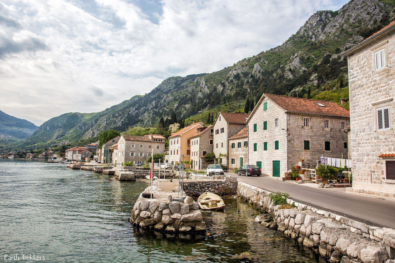 Kotor Bay Road