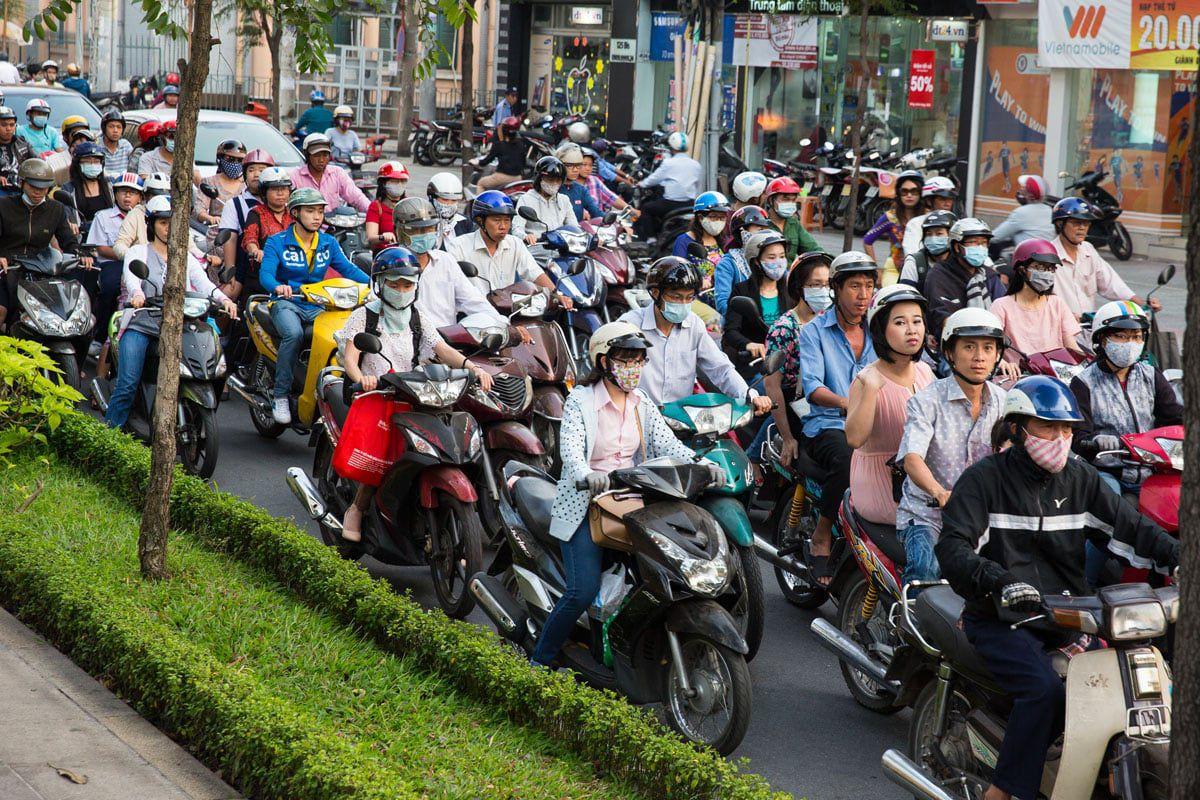 Motorbikes Vietnam