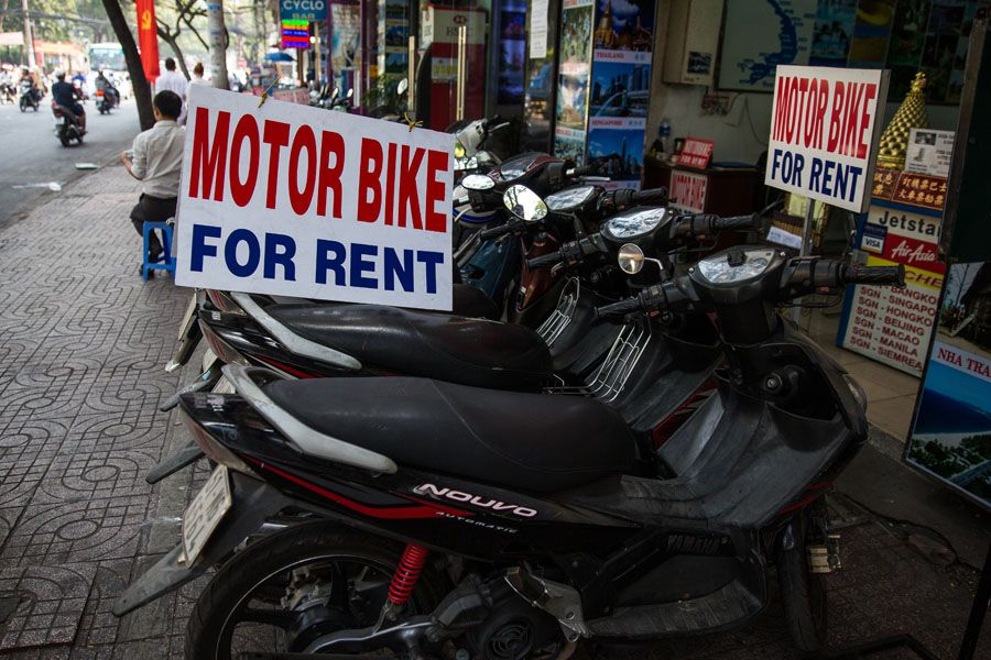 Rent a Motorbike in HCMC