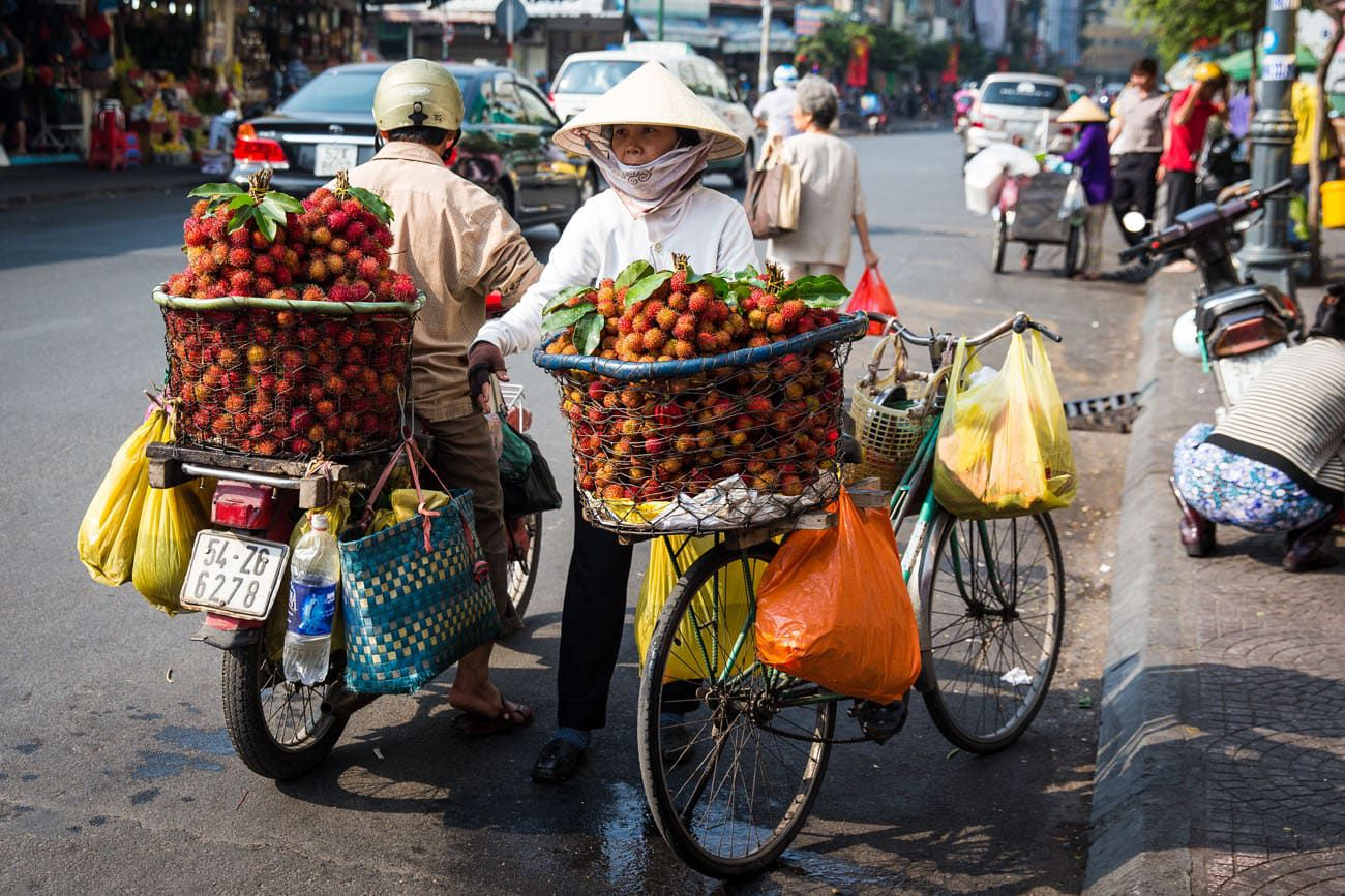Saigon Street Vendor