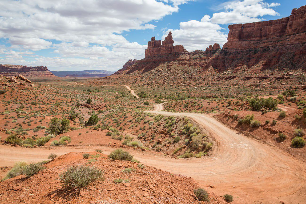 Valley of the Gods Road