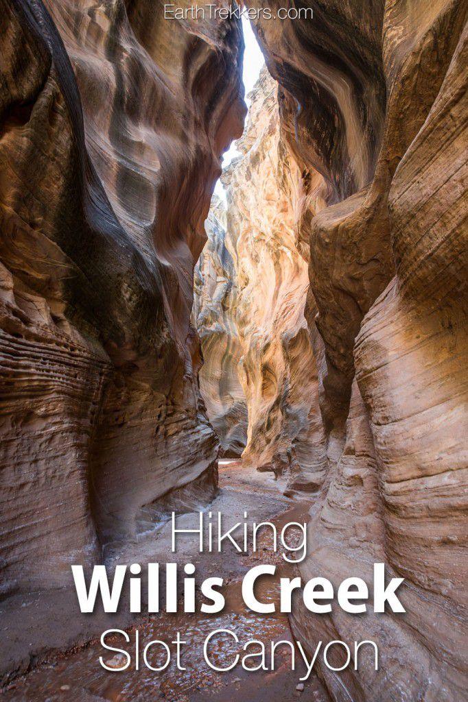 Willis Creek Slot Canyon Utah