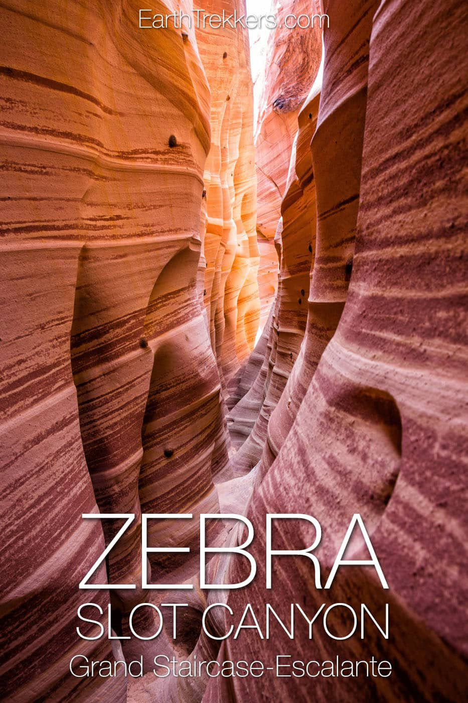 Zebra Slot Canyon Hike