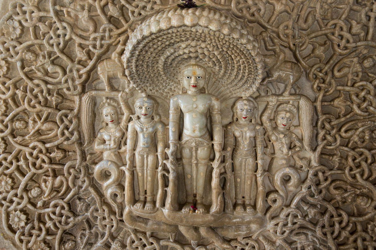 Carvings in Ranakpur