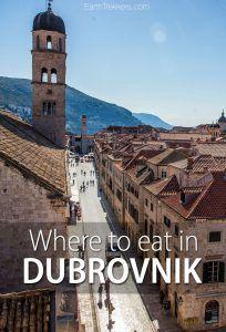 Dubrovnik Restaurants to Try