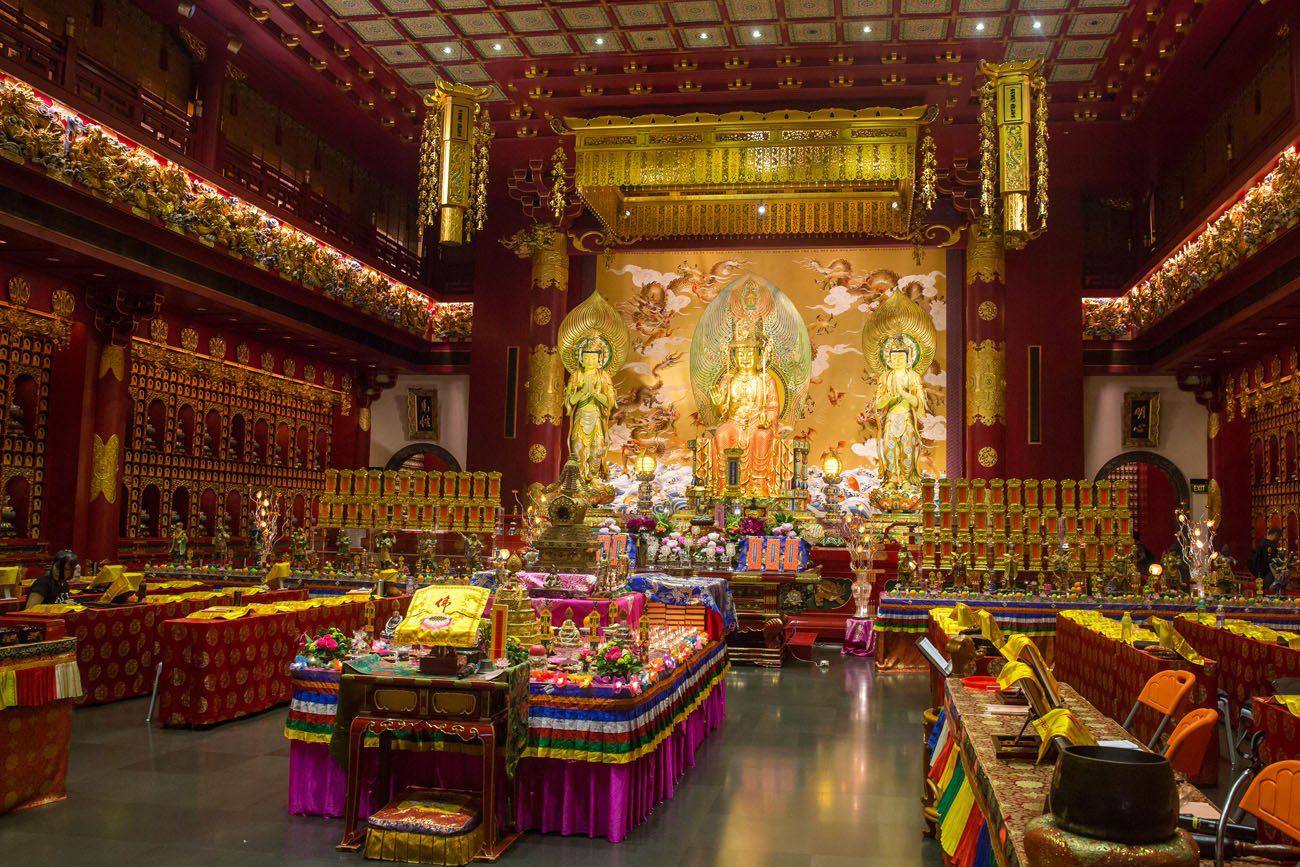Inside Buddha Tooth Relic