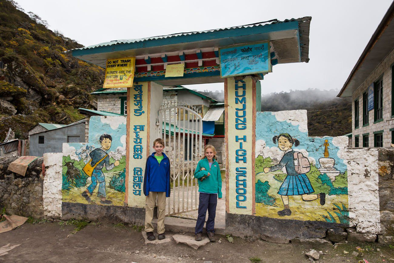 Khumjung High School Everest Base Camp
