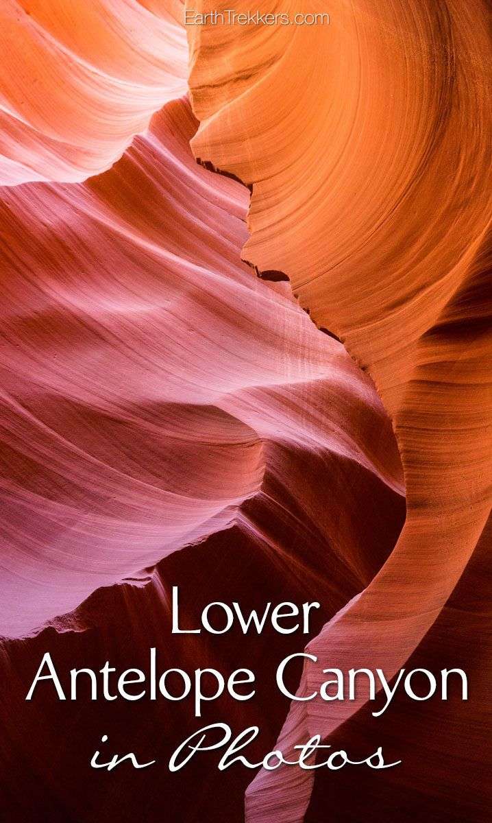 Lower Antelope Canyon in Photos