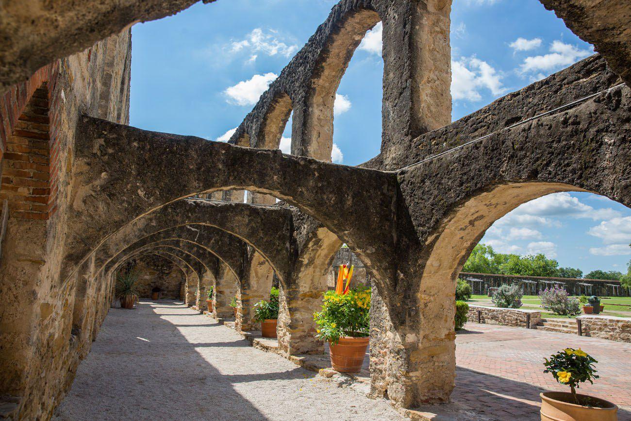 Mission San Jose Arches