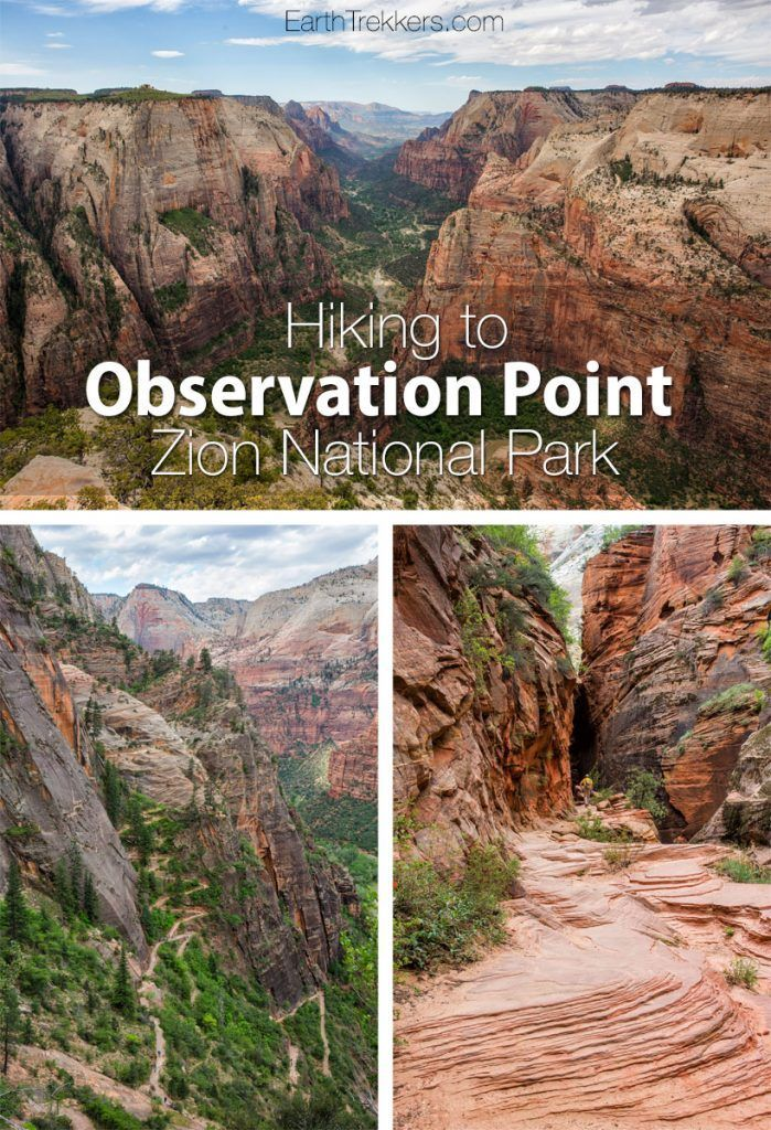 Observation Point Zion Hike