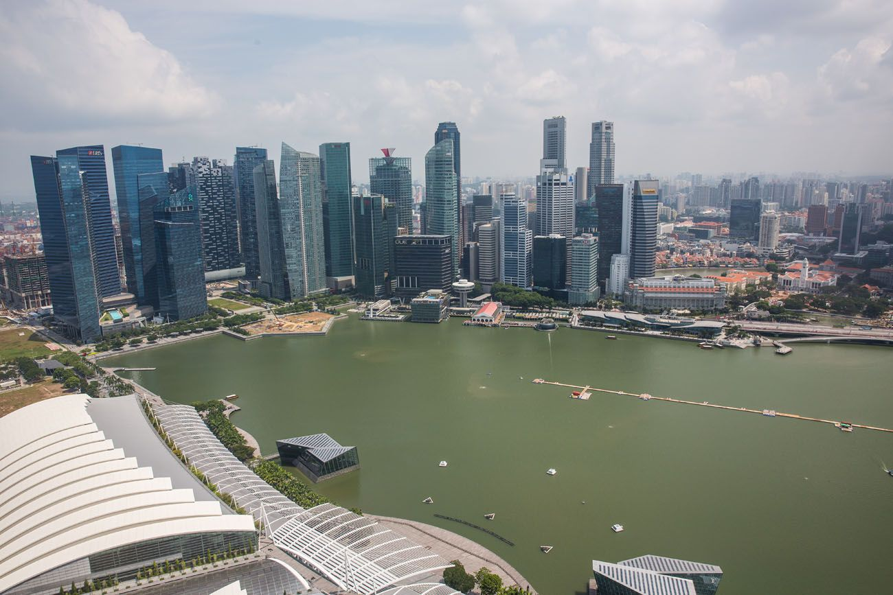 Overlooking Singapore