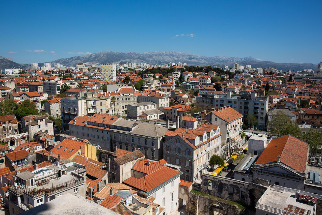 Overlooking Split