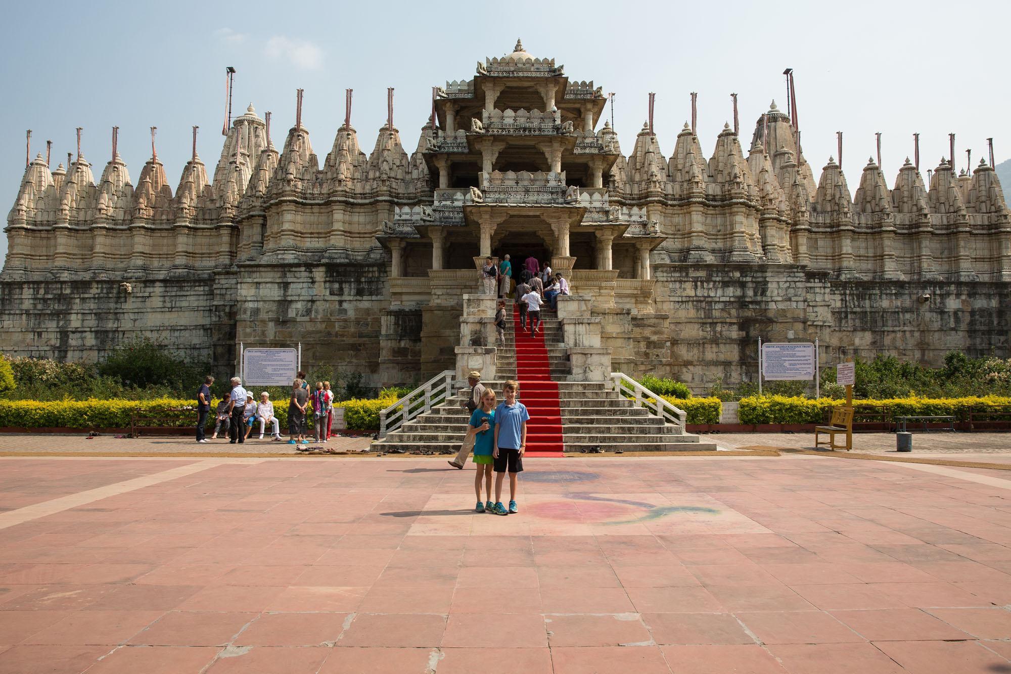 Ranakpur Temple with Kids