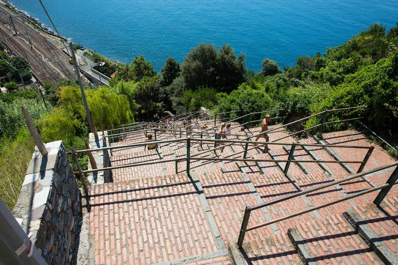 Steps to Corniglia