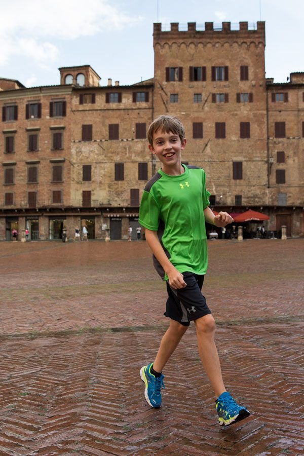 Tyler in Siena