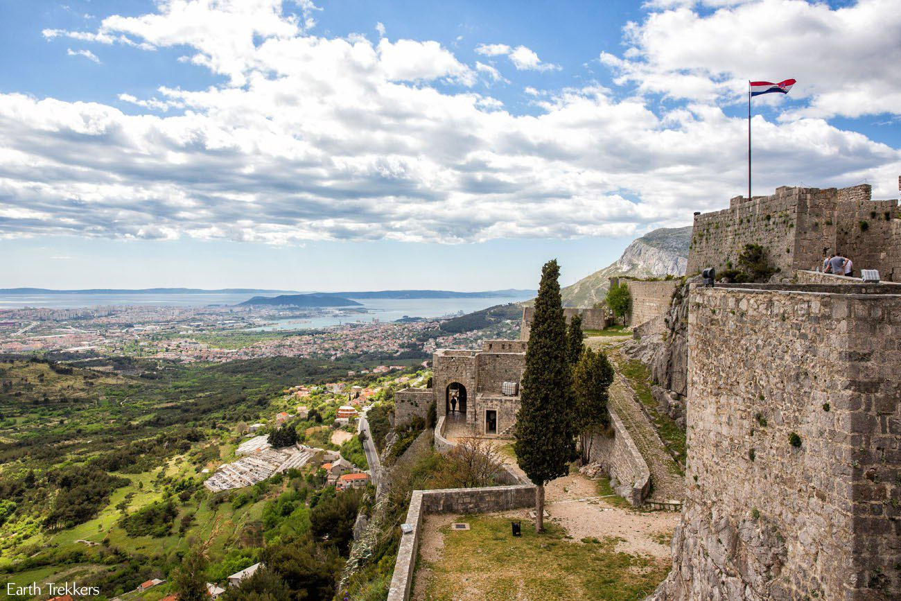 View from Klis