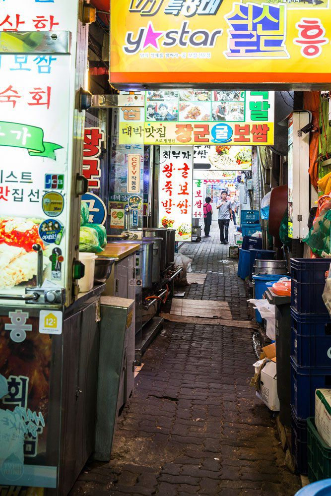 Alley in Seoul