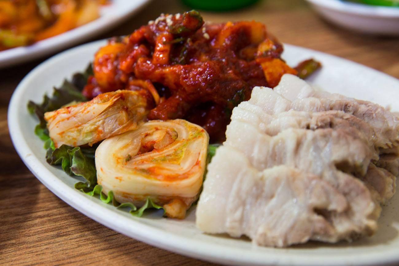 Dinner in Seoul